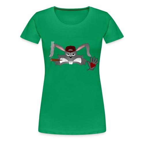 Hallo How are you - Dame premium T-shirt