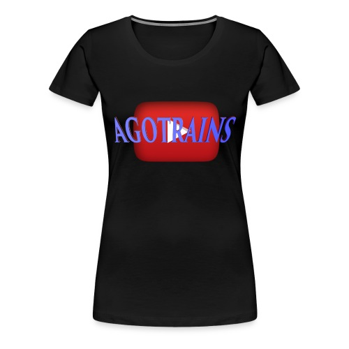 AGOTRAINS - Maglietta Premium da donna