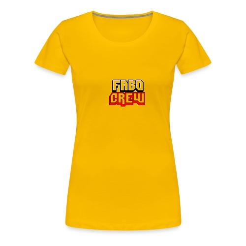 Fabo Crew Merch - Frauen Premium T-Shirt