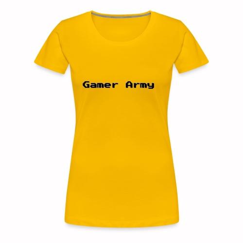 Gamer Army - Frauen Premium T-Shirt