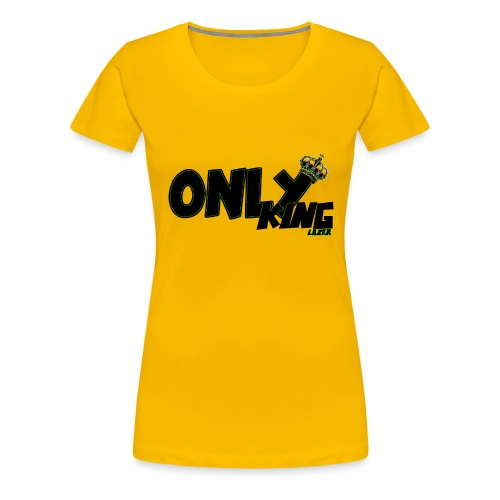 OnlyKing Lazer - T-shirt Premium Femme