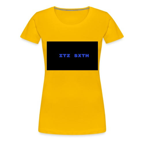 Itz Sxth Navy Clothing - Women's Premium T-Shirt