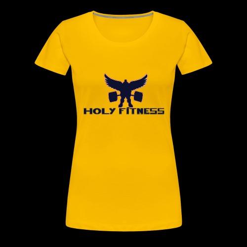Logo 1 Holy fitness nouvelle génération - T-shirt Premium Femme
