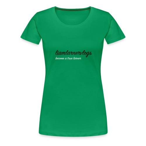 LiamLarnerVlogs - Women's Premium T-Shirt