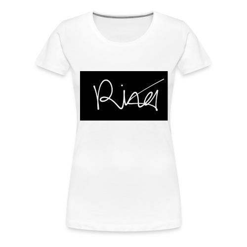Autogramm - Frauen Premium T-Shirt