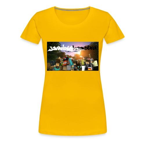 6057231244D88B5F5DED63C6F58FB0122038CBC7A63A50B55 - Women's Premium T-Shirt