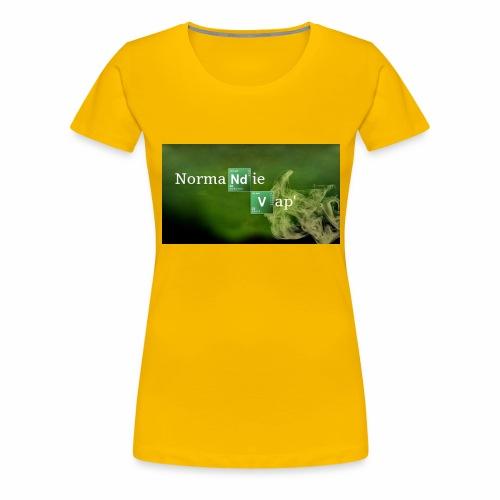 Normandie Vap' - T-shirt Premium Femme