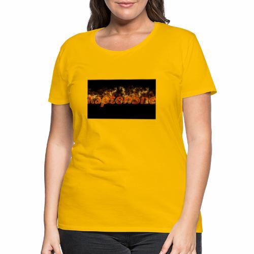 KaptenSne Burning - Premium-T-shirt dam