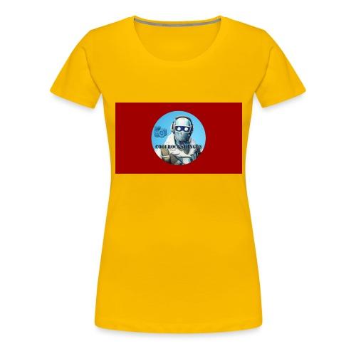 Coolrockskingen 2.0 - Premium-T-shirt dam