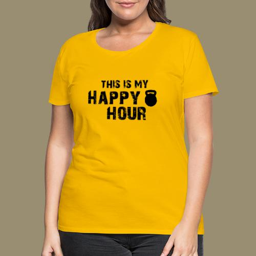 shirtsbydep happyhour - Vrouwen Premium T-shirt