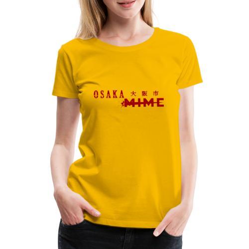 Osaka Mime Logo - Women's Premium T-Shirt