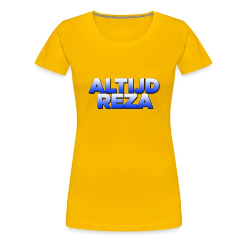 |AltijdReza teenager Short sleeve shirt 2 colors| - Vrouwen Premium T-shirt