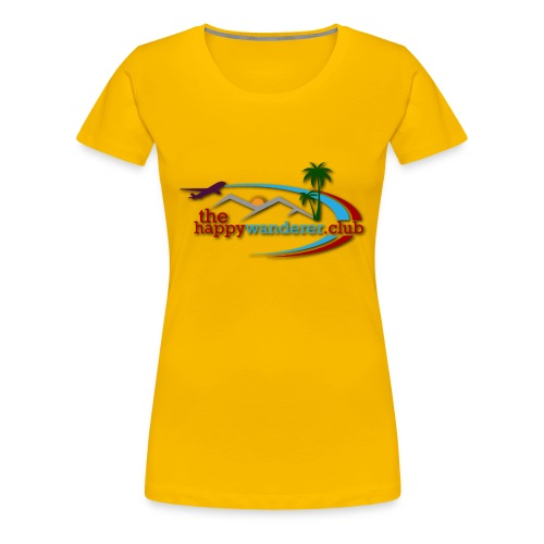 The Happy Wanderer Club Merchandise - Women's Premium T-Shirt