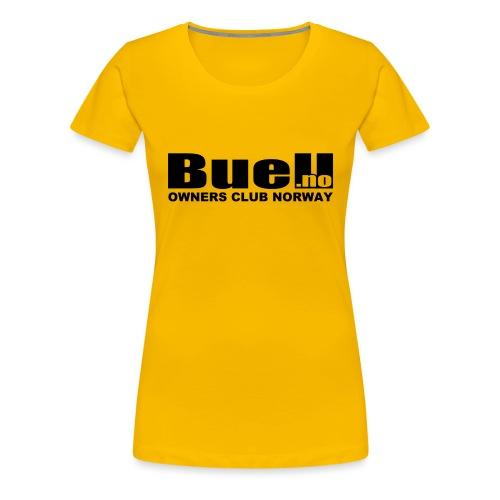 Sort Logo - Premium T-skjorte for kvinner