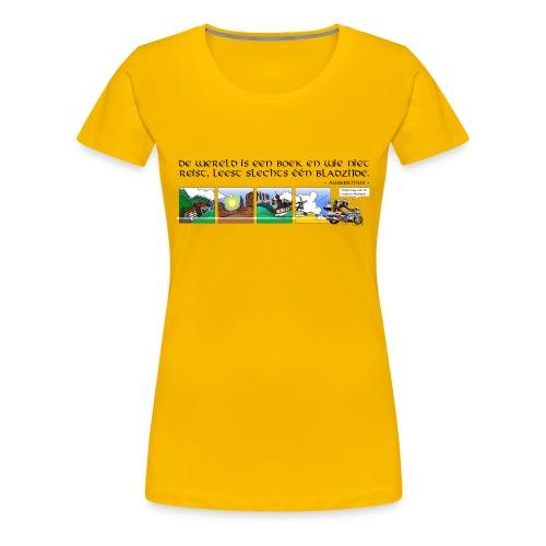 travel NEDERLANDS - Vrouwen Premium T-shirt