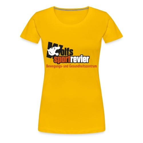 Wolfs Sportrevier - Frauen Premium T-Shirt