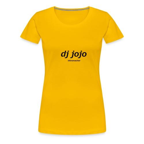 dj sachen von intromacher - Frauen Premium T-Shirt