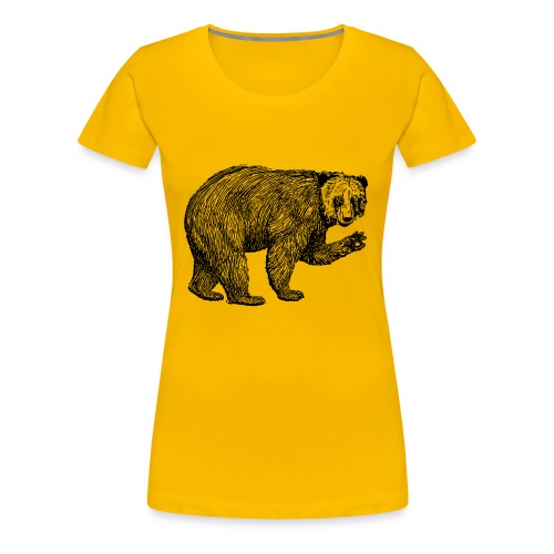 Bear Bamboozle - Frauen Premium T-Shirt