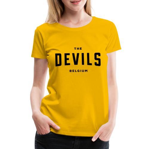 les diables belgique Belgique - T-shirt Premium Femme