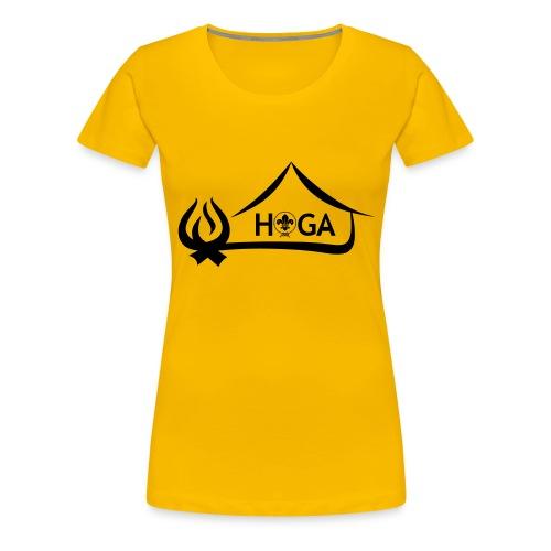 HoGa Logo - Frauen Premium T-Shirt