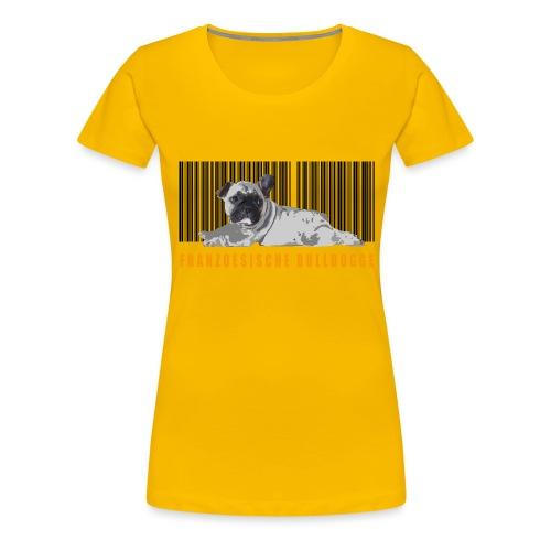 BARCODE BULLY - Frauen Premium T-Shirt