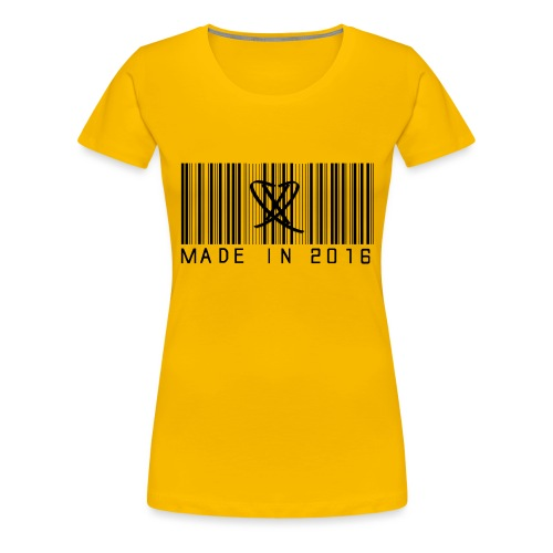 Made in 2016 Tee - Dame premium T-shirt