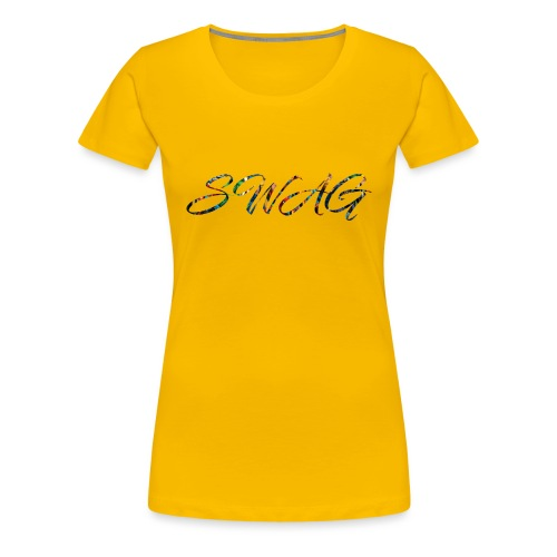 Texte 'Swag' - T-shirt Premium Femme