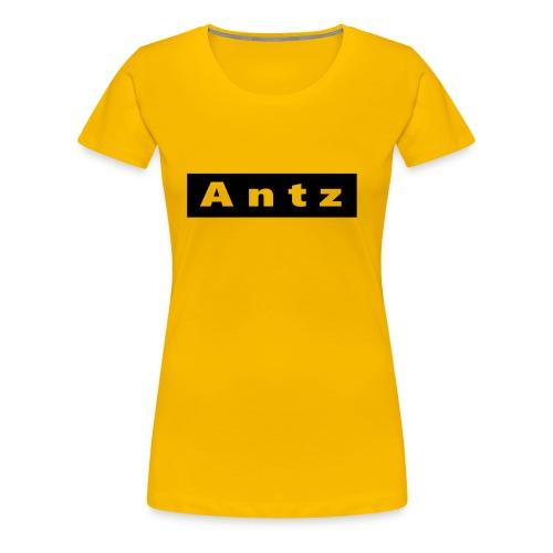 antz logo - Premium-T-shirt dam