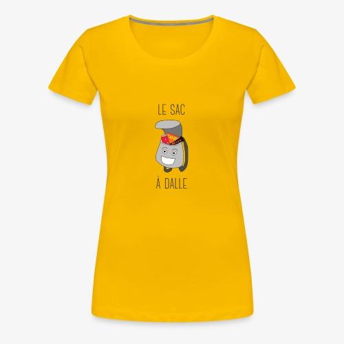 Le Sac à Dalle - T-shirt Premium Femme