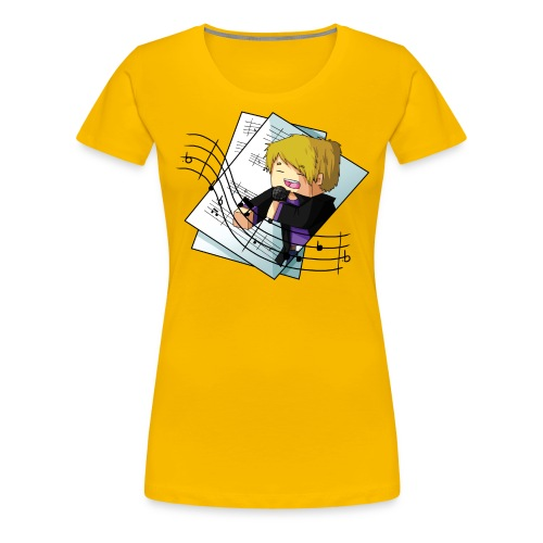 Sing with me - Women's Premium T-Shirt