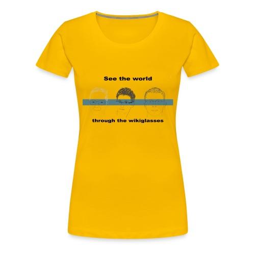 301272013 1007741216 dp 3wg tr orig - T-shirt Premium Femme