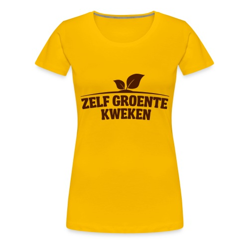 logo5 - Vrouwen Premium T-shirt