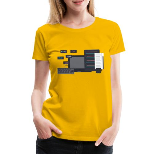 Developer set! - Koszulka damska Premium