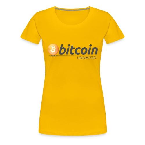 Bitcoin Unlimited - Maglietta Premium da donna