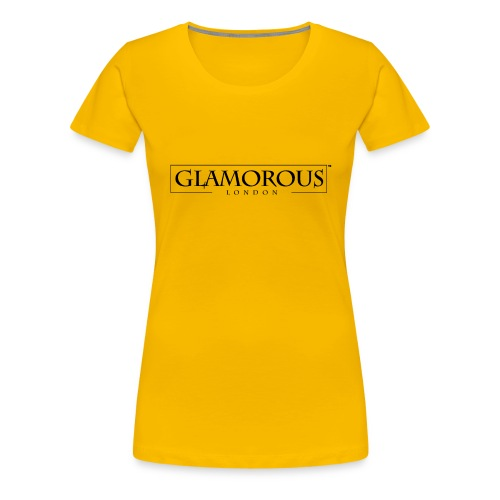 Glamorous London LOGO - Women's Premium T-Shirt