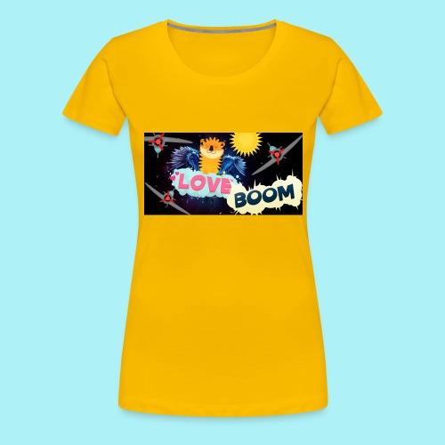 Tigre volant - T-shirt Premium Femme