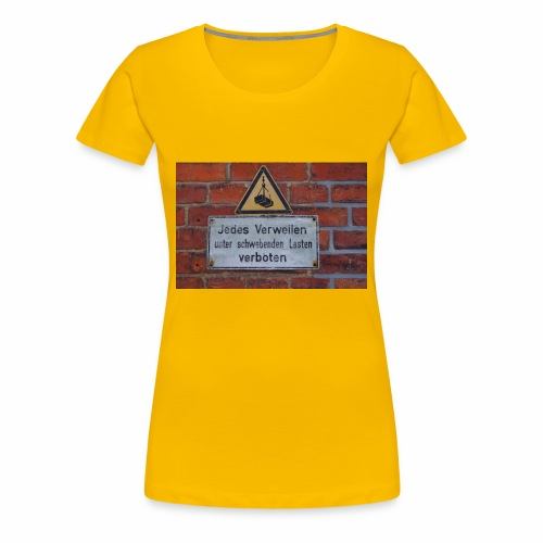 Original Artist design * Jedes Verweilen - Women's Premium T-Shirt