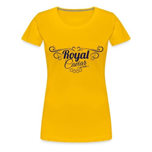Royal Caviar Logo - Frauen Premium T-Shirt