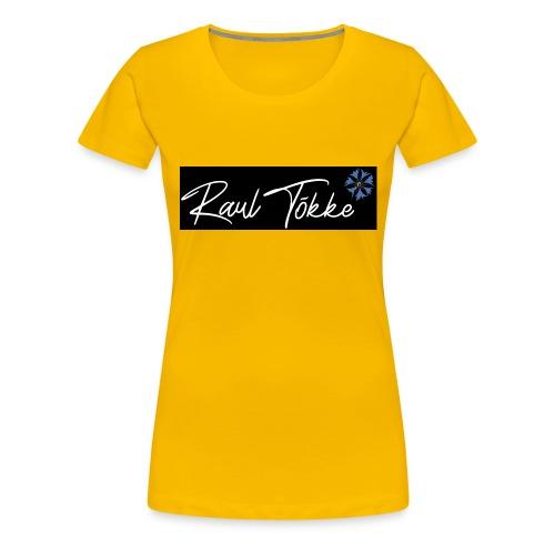 Raul Tõkke 2 - Women's Premium T-Shirt