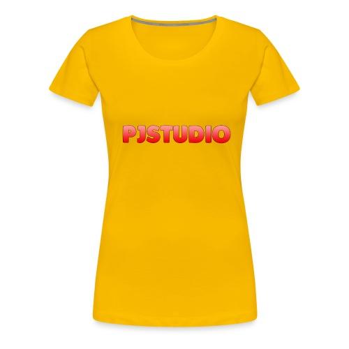 PJstudio hettegenser - Premium T-skjorte for kvinner