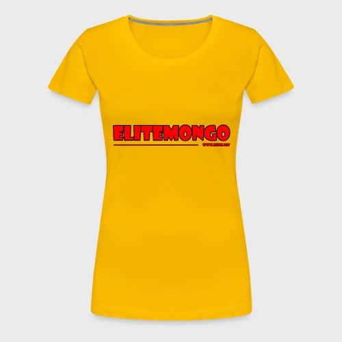 Elitemongo - Frauen Premium T-Shirt