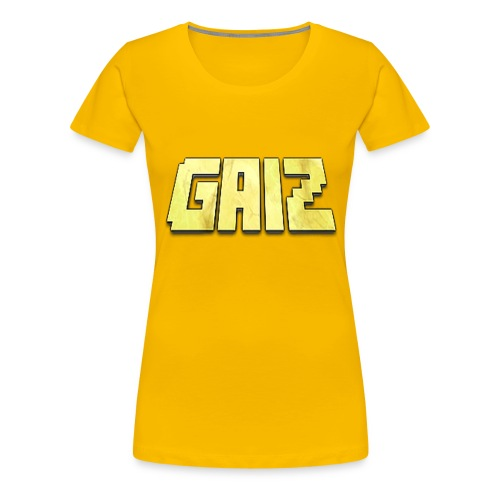 POw3r yellow-GAIZ - Maglietta Premium da donna