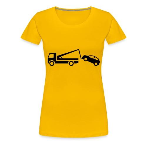 Parken verboten Tshirts Abschleppen - Frauen Premium T-Shirt