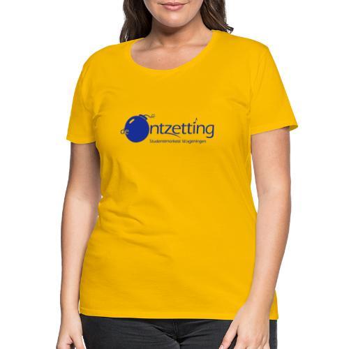ontzetting logo - Vrouwen Premium T-shirt