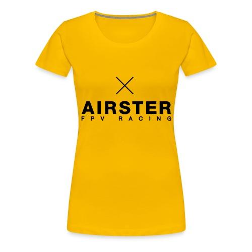 Airster_final_type_Spread - Frauen Premium T-Shirt