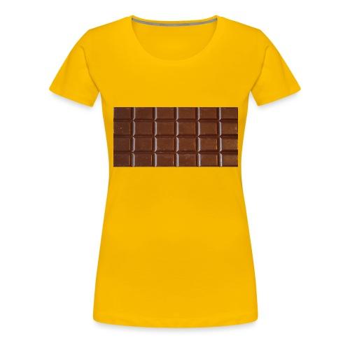 chocolat - T-shirt Premium Femme