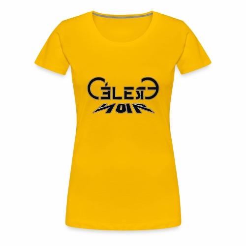 celeste noir - Frauen Premium T-Shirt