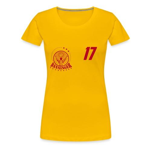 Nummer Logo rot - Frauen Premium T-Shirt