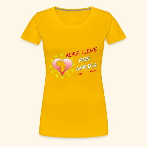 love africa - T-shirt Premium Femme