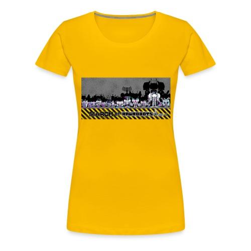 #MarchOfRobots ! LineUp Nr 2 - Dame premium T-shirt